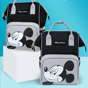 Disney Mickey Mouse Diaper Bag Mommy Backpack